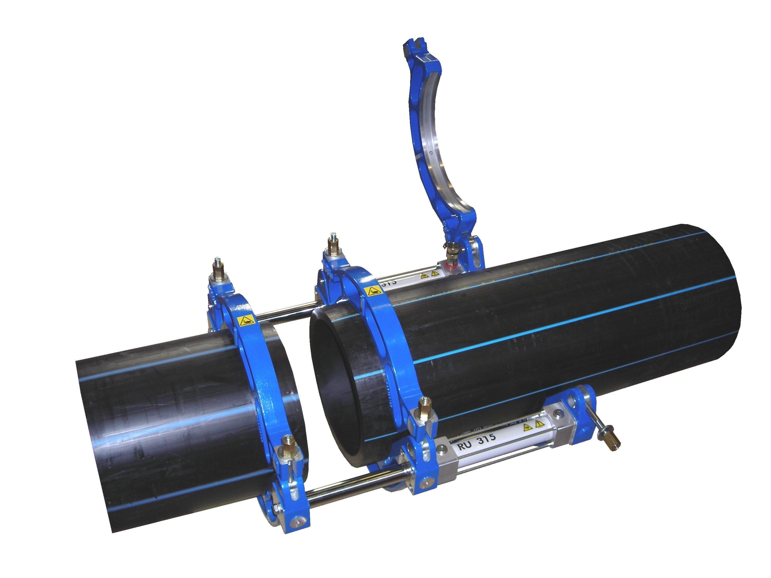 Machine GF pour soudage de tube plastique bout à bout